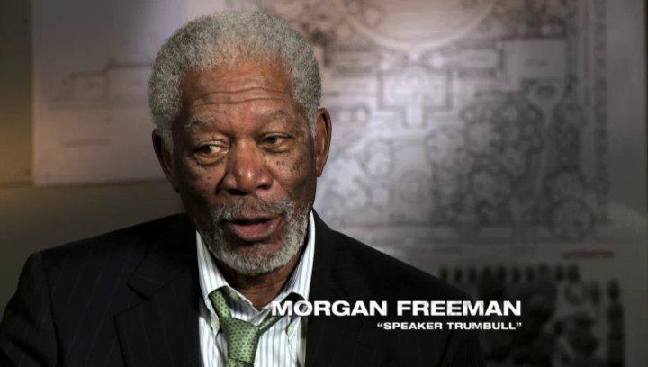 Morgan Freeman über das Projekt - OV-Interview Poster