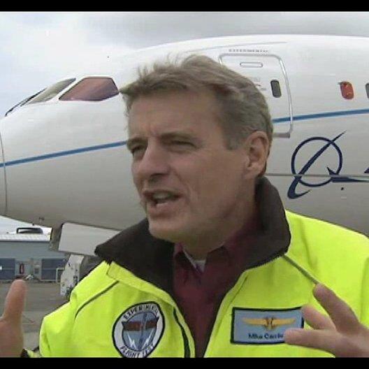 Interview mit Mike Carriker (Test Pilot) - OV-Interview Poster