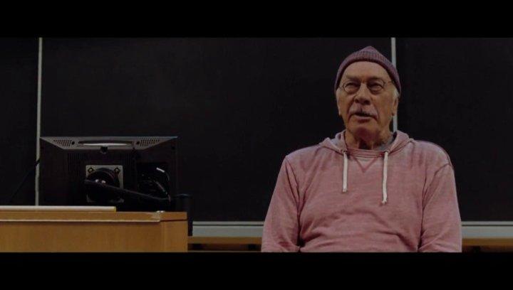 Prof. Coreman referiert über das Glück - Szene Poster