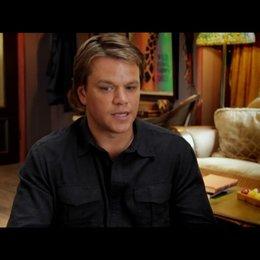 Matt Damon - Benjamin Mee - über Thomas Haden Church als Duncan Mee - OV-Interview Poster