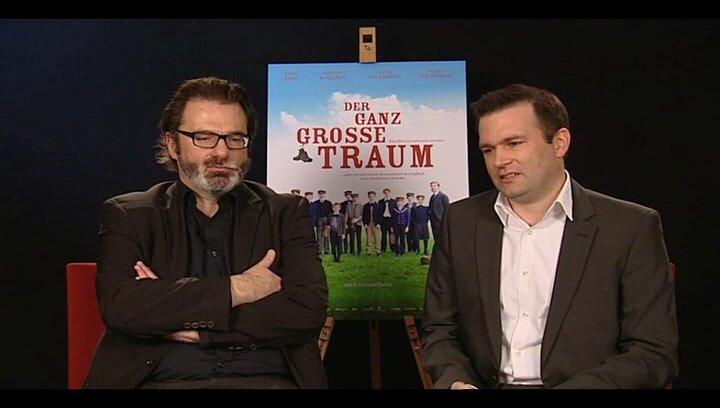 Anatol Nitschke und Raoul Reinert (Produzenten) über das Thema Fussball im Deutschen Film - Interview Poster