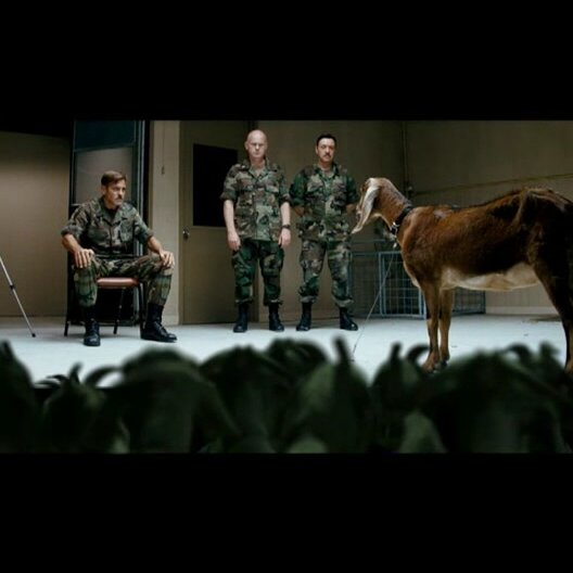 Männer, die auf Ziegen starren - Teaser Poster
