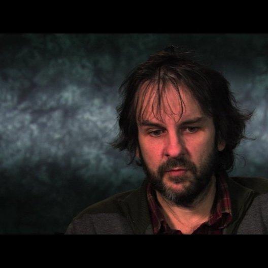 Peter Jackson über die Besetzung von Kapitän Haddock - OV-Interview Poster