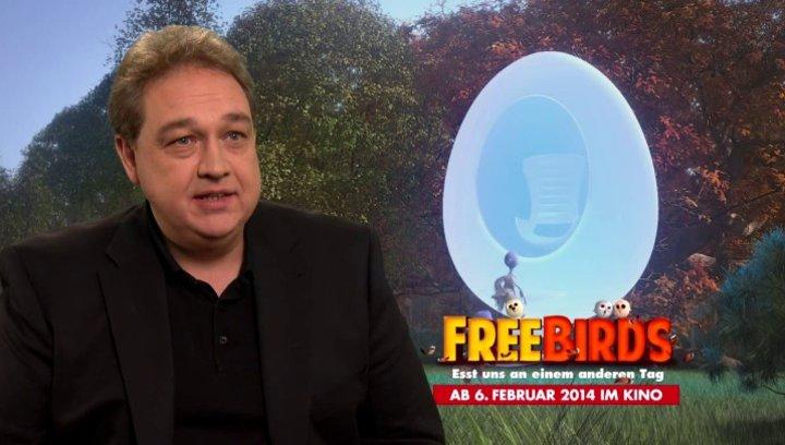 Oliver Kalkofe - deutsche Stimme Steve - über die Vorteile von Animationsfilmen - Interview Poster