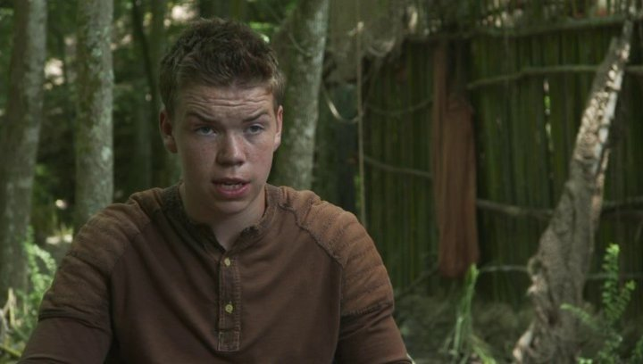 Will Poulter - Gally - über Alby - OV-Interview Poster
