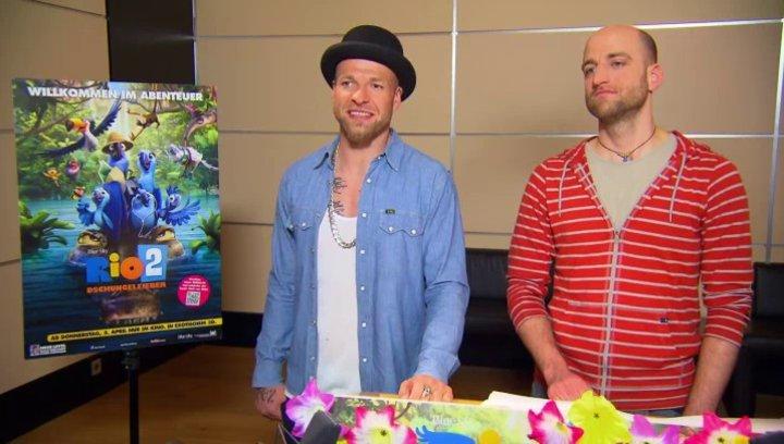 Mateo und Mr Reedoo - Pedro und Nico - über die Synchronaufnahmen - Interview Poster