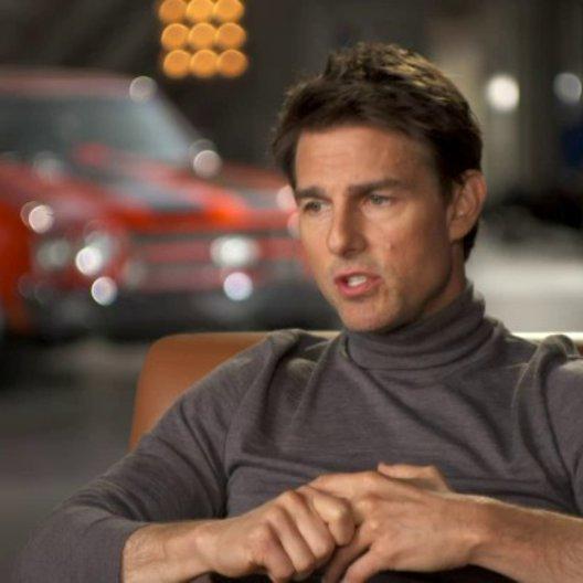 Tom Cruise - Jack Reacher über die Action im Film - OV-Interview Poster