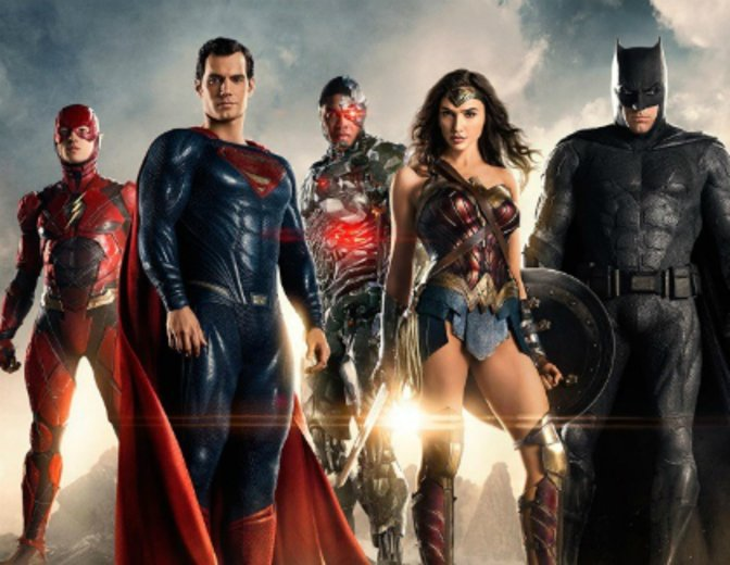 Justice League 2017 Warner DC