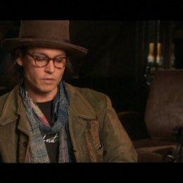 Interview mit Johnny Depp ( Sweeney Todd ) - OV-Interview Poster