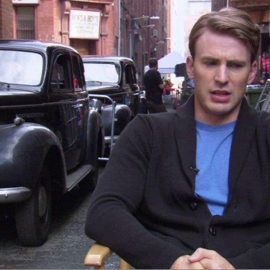 Chris Evens - Steve Rogers - Captain America - über Joe Johnston - OV-Interview Poster