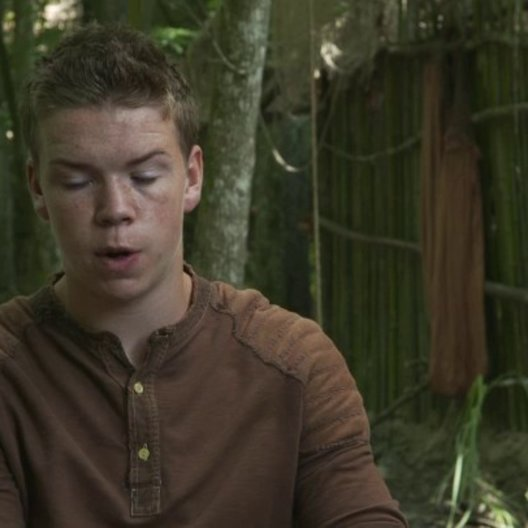 Will Poulter - Gally - über Gally - OV-Interview Poster