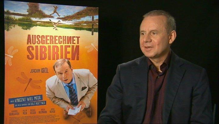 Joachim Krol über Bleuels und Sajanas erstes Treffen - Interview Poster