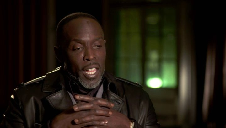 Michael Kenneth Williams - Neville Baraka - über die Stakers - OV-Interview Poster