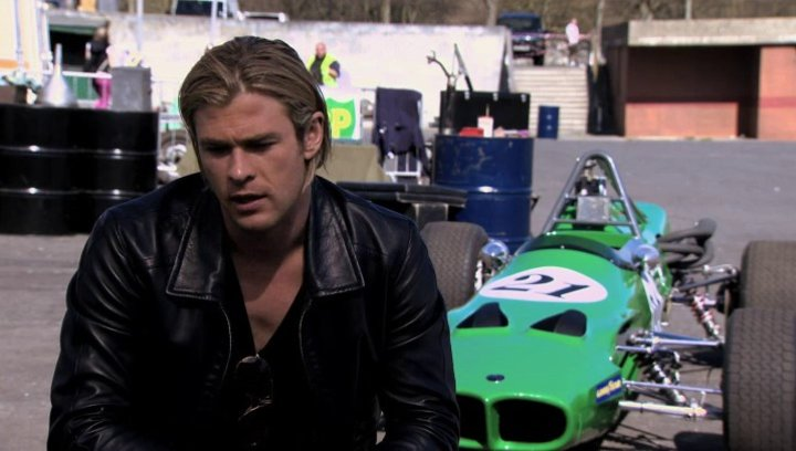 Chris Hemsworth -James Hunt-über den Film - OV-Interview Poster