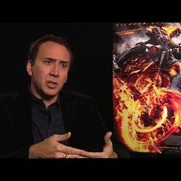 Nicolas Cage über die Wichtigkeit seiner Rolle als Ghost Rider - OV-Interview Poster
