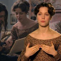 Andrea Deck - Charlotte - über Paganinis und Charlottes Vebindung durch die Musik - OV-Interview Poster