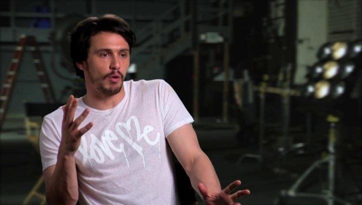 James Franco über die Tonart des Films - OV-Interview Poster