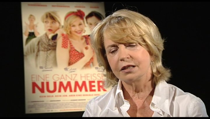 Gisela Schneeberger über den Drehort - Interview Poster
