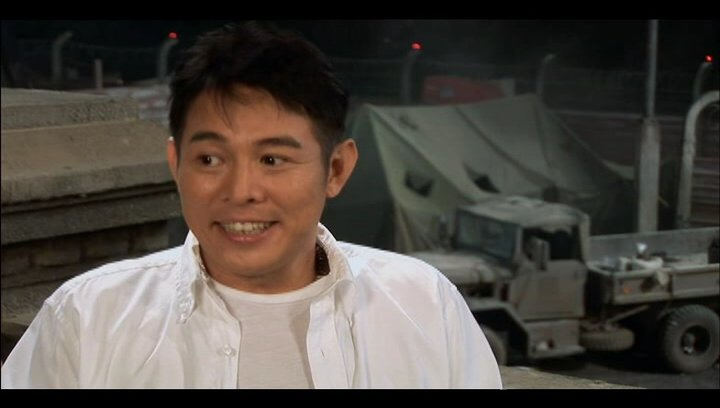 Jet Li über die Regie - OV-Interview Poster