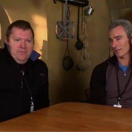 """Peter Jacksons dritter Videoblog vom """"Hobbit""""-Set: Bilbos erste Begegnung mit Gollum, Zwergenspaß und Galadriels Rückkehr nach Rivendell! - OV-Feature Poster"""