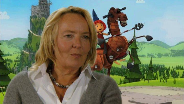 Gabriele Walther über Ritter Rost und die Männer - Interview Poster