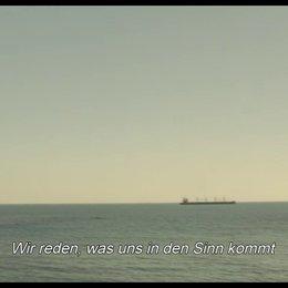 Cafe und Meer Stimmungs Szene Poster