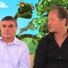 Tom Gerhardt und Detlev Redinger darüber warum Erwachsene sich bei Ritter Rost amüsieren - Interview Poster