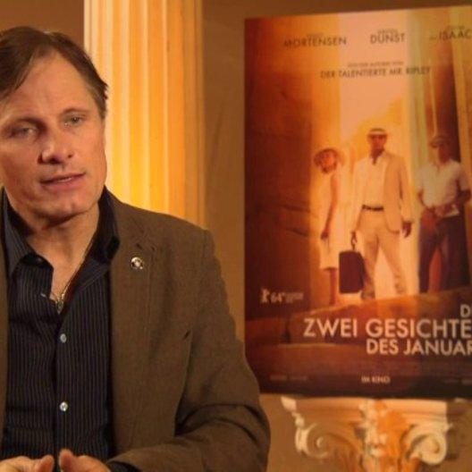 Viggo Mortensen - Chester MacFarland - über die Entwicklung der Geschichte - OV-Interview Poster
