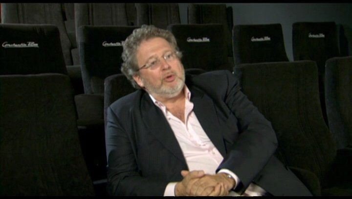 Martin Moszkowicz ueber die 3D-Faszination - Interview Poster