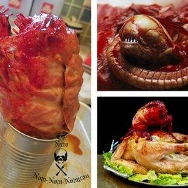 """Weihnachtsgans des Grauens: Dieses """"Alien""""-Rezept macht nur echte Horror-Fans glücklich!"""