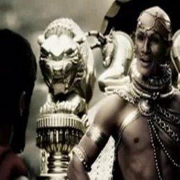 Leonidas und Xerxes treffen aufeinander. - Szene Poster