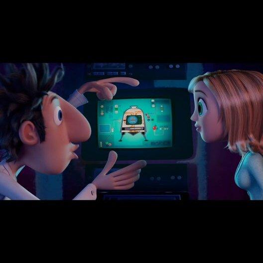 Wolkig mit Aussicht auf Fleischbällchen (Dvd Trailer) - OV-Trailer Poster