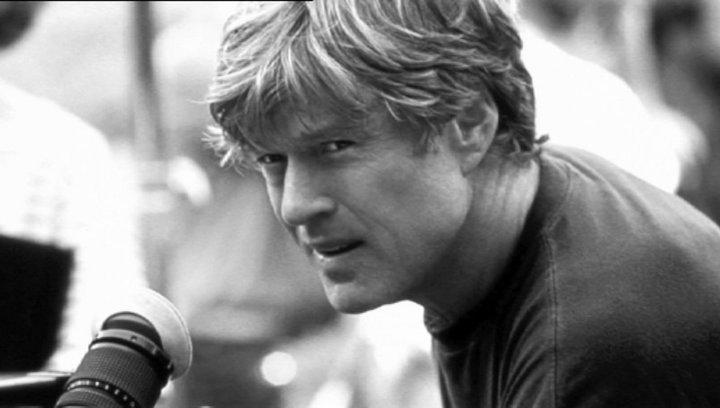 Der Pferdeflüsterer - Zusammenarbeit mit Romanautor Nicholas Evans und Schauspieler Robert Redford - Szene Poster