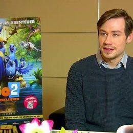 David Kross - Blu - über die Story - Interview Poster