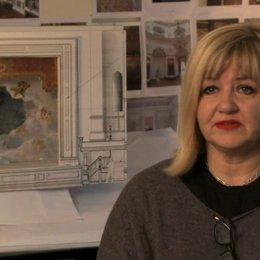 Sarah Greenwood über das Besondere des Films - OV-Interview Poster