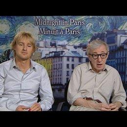 Owen Wilson (Gil) und Woody Allen (Regie) über sein Lebensgefühl - Allen - OV-Interview Poster