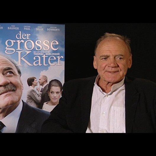 Bruno Ganz / Kater ueber die Moeglichkeit einer eigenen politischen Karriere - Interview Poster