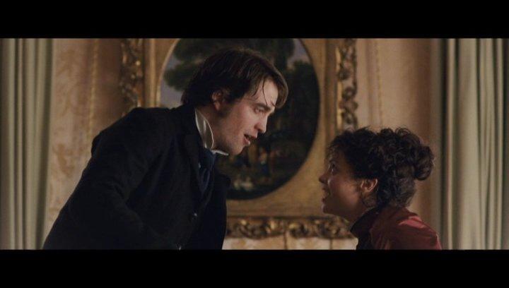 George und Clotildes Tochter spielen - Szene Poster