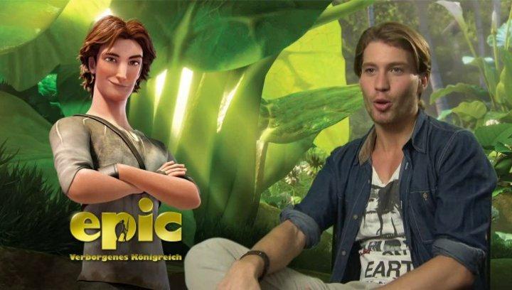 Raul Richter -Nod- über den 3D - Effekt - Interview Poster