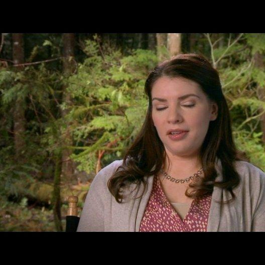 Stephenie Meyer (Autorin) - über die Auswirkungen der Schwangerschaft auf die Charaktere - OV-Interview Poster