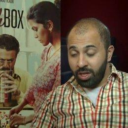 Ritesh Batra (Regie) über die verschiedenen sozialen Hintergründe von Saajan, Ila und Shaikh - über Lunchbox als Liebesgeschichte - OV-Interview Poster