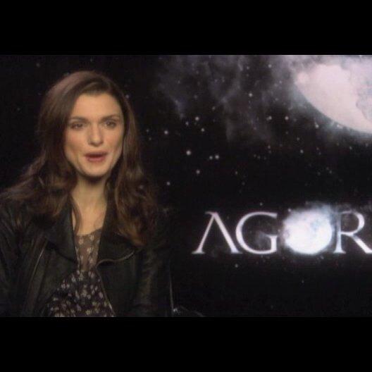 Rachel Weisz über ihre Rolle Hypatia - OV-Interview Poster