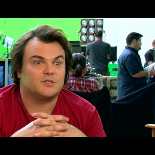 Jack Black über Jason Segel - OV-Interview Poster