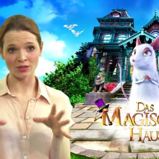 Karoline Herfurth - Maggie - über das magische Haus - Interview Poster