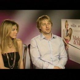 Interview mit Jennifer Aniston und Owen Wilson - OV-Interview Poster