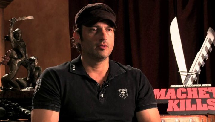Robert Rodriguez über den Film - OV-Interview Poster