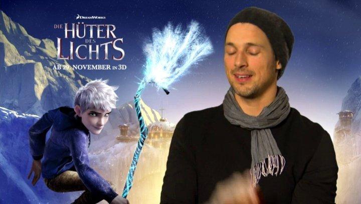 FLORIAN DAVID FITZ - Jack Frost - über Jack Frosts Beziehung zu den Huetern des Lichts - Interview Poster