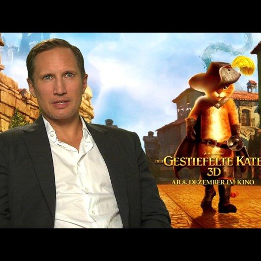 Benno Fürmann - DER GESTIEFELTE KATER - darüber, dass es einen eigenen Film über den GESTIEFELTEN KATER gibt - Interview Poster