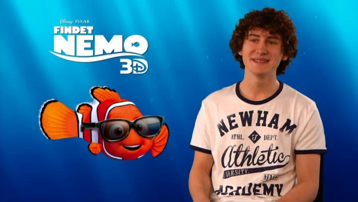 Domenic Redl - Synchronstimme Nemo - was Findet Nemo in 3D ausmacht - Interview Poster
