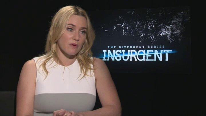 Kate Winslet - Jeanine - was sie daran gereizt hat erneut in die Rolle von Jeanine Matthews zu schlüpfen - OV-Interview Poster